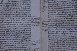 Marginalia from the Historia Scholastica